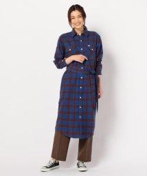 FREDY&GLOSTER/【Lee/リー】WORK DRESSチェックシャツワンピース/502776387