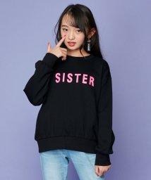 SISTER JENNI/厚盛ロゴプリントトレーナー/502786691