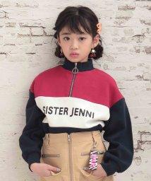 SISTER JENNI/カラーブロックロング丈トレーナー/502786692
