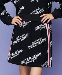 SISTER JENNI/サイドライン裏起毛台形スカパン/502786710