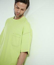 TOMORROWLAND MENS/【WEB先行予約】コットンカシミヤフライス ビッグシルエットポケットTシャツ/502788405