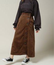 framesRayCassin/コーデュロイ横ボタンスカート/502789985
