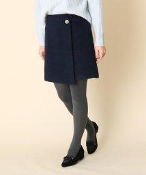 Couture Brooch/ボタンラップミニスカート/502790016