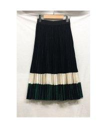 STYLE H/ベルベット ベロア プリーツスカート ハイウエスト Aライン 韓国ファッション/502792050