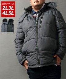 MARUKAWA/【大きいサイズ】【LOUIS CHAVLON】ドビー中綿ブルゾン/502748210