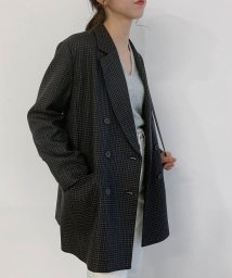 ROPE' mademoiselle/タスランヘリンボーンオーバージャケット/502770354