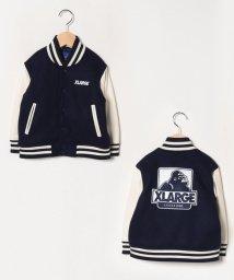 XLARGE KIDS/OGゴリラ袖羊革スタジャン/502771128
