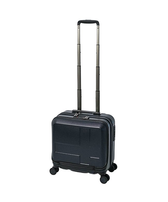 カバンのセレクション イノベーター スーツケース ビジネスキャリーバッグ 機内持ち込み 33L Sサイズ フロントオープン ストッパー innovator INV36 メンズ ネイビー フリー 【Bag & Luggage SELECTION】