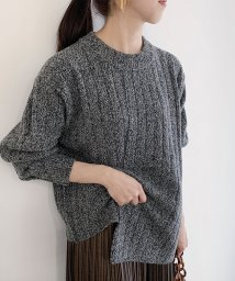 ROPE' mademoiselle/ワイドリブチュニックニット/502795231