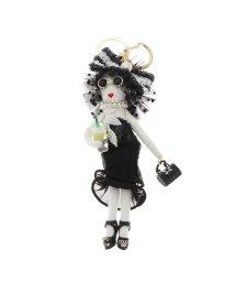 VitaFelice/ヴィータフェリーチェ VitaFelice バッグチャーム ドール バッグチャーム 人形 キーホルダー きらきら バッグのアクセサリー (D)/502795405