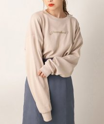 NICE CLAUP OUTLET/【one after another】長袖ロゴカットソー/502775448