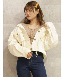 dazzlin/バックシャンショートシャツジャケット/502788541