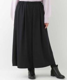eur3/【大きいサイズ】スカート見えワイドパンツ/502796310