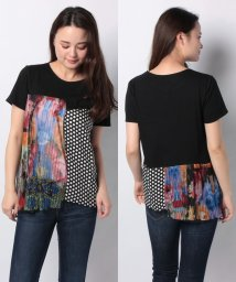 Desigual/WOMAN KNIT T-SHIRT SHORT SLEEVE/502790625