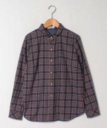 Leilian PLUS HOUSE/チェックシャツ/502724963