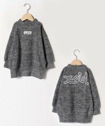 X-girl Stages/ボックスロゴ起毛プルオーバー/502780872