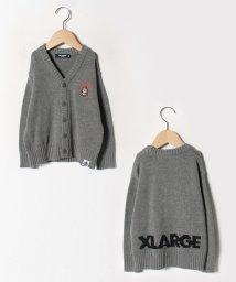 XLARGE KIDS/ニットファニゴリカーデガン/502780881