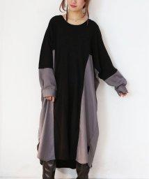 osharewalker/『n'Orニットデザイン切り替えシャツワンピース』/502797023