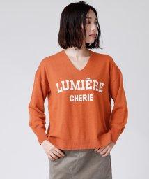LASUD/[soeur7]LUMIERE CHERIE ロゴニット/502797304