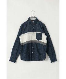 ikka/ネルパネル切り替えシャツ/502797536