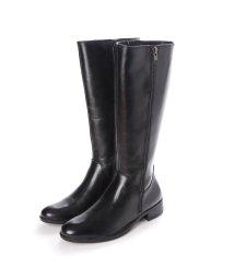 ITALICO/イタリコ ITALICO セラミックソール 牛革ジョッキーロングブーツ (ブラック)/502799299