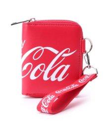 PINK-latte/コカ・コーラ ストラップ付財布/502799574