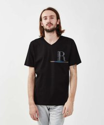 5351POURLESHOMMES/【20SS新作】リバースロゴTシャツ【予約】/502802264