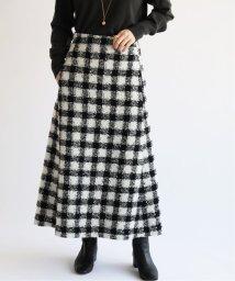 IENA/chere monotone ツイードスカート◆/502802527