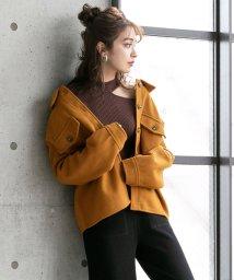 YUMETENBOU/WフェイスCPOシャツジャケット/502777810