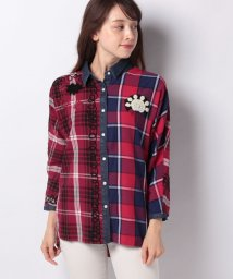 Desigual/WOMAN WOVEN SHIRT 3/4 SLEEVE/502793683