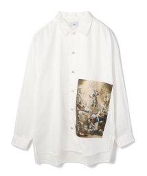 LHP/Clut/クルト/【web限定】プリントステンカラーシャツ made in japan/502802637