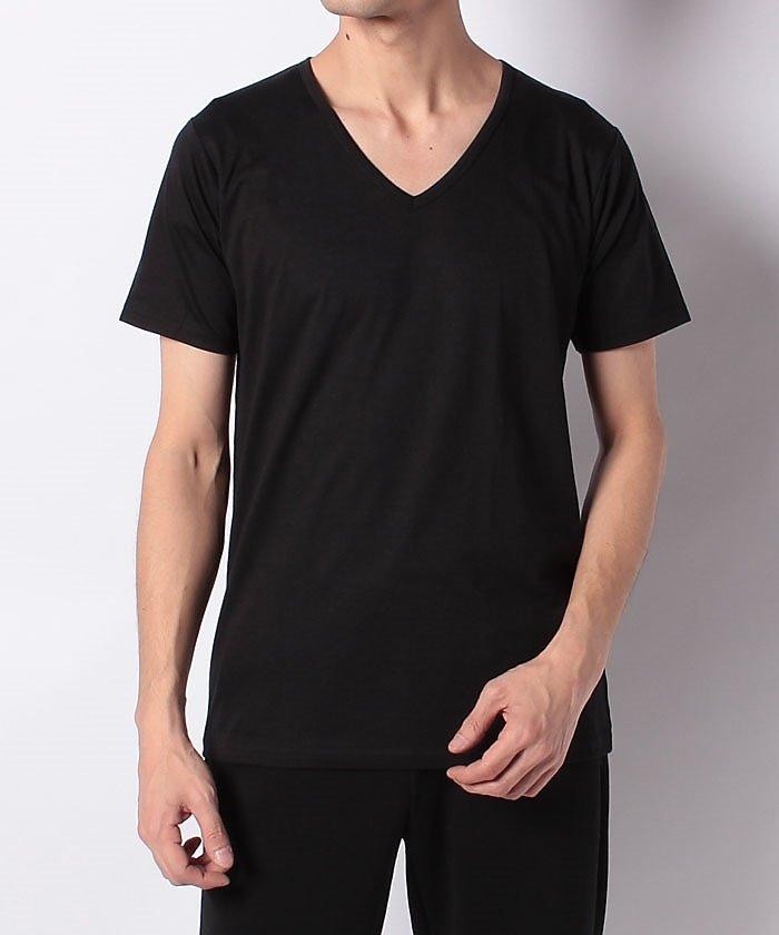 販売主:スポーツオーソリティ スポーツオーソリティ/メンズ/VネックTシャツ メンズ ブラック L 【SPORTS AUTHORITY】