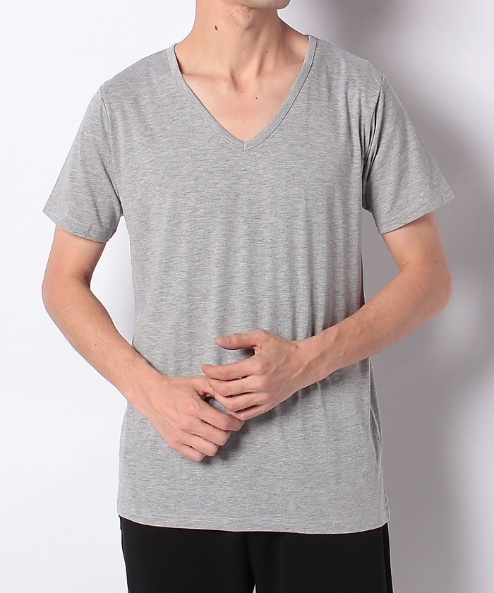 販売主:スポーツオーソリティ スポーツオーソリティ/メンズ/VネックTシャツ メンズ グレー S 【SPORTS AUTHORITY】
