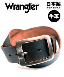 MARUKAWA/【WRANGLER】ブラシ擦りレザーベルト/502666244