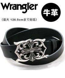 MARUKAWA/【WRANGLER】クロスバックルレザーロングベルト/502666245