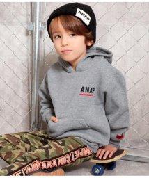 ANAP KIDS/袖ネーム付フーディートップス/502780093