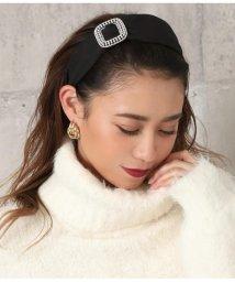 CHILLE/パール付太カチューシャ/502792644