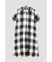 MARGARET HOWELL/LARGE CHECK LINEN/502804538