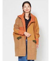 CAYHANE/【チャイハネ】パッチワークビッグシルエットジャケット CMI-9302/502804820