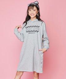 JENNI love/サイドスリットパーカーワンピ/502805071
