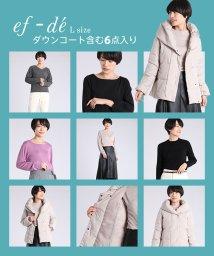 ef-de(L SIZE)/【2020年福袋】ef-de Lサイズ ダウンコート入り!2万円/502807258