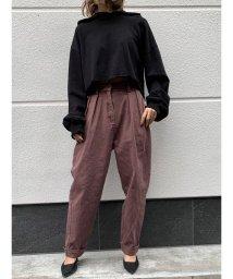 MINK TOKYO/タックテーパードPT/502807280