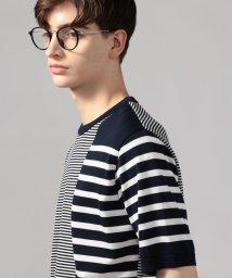 TOMORROWLAND MENS/パッチワークボーダー ニットTシャツ tricot-T/502807748