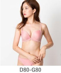 fran de lingerie/Nudy PushUP -smooth- ヌーディープッシュアップスムース ブラ&ショーツセット D80-G80カップ/500654420