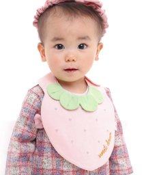 e-baby/天竺+ブロードイチゴスタイ/502634018