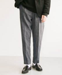 URBAN RESEARCH/尾州WOOL CHECK TROUSER/502809752
