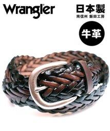 MARUKAWA/【WRANGLER】メッシュレザーベルト/502666247