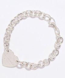 Tiffany & Co./【Tiffany&Co】SS RTT ハート タグ ブレスレット  19cm/502769658