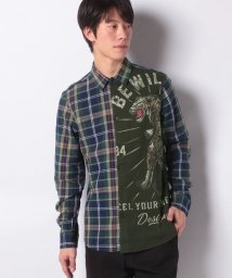 Desigual/MAN WOVEN SHIRT LONG SLEEVE/502793701