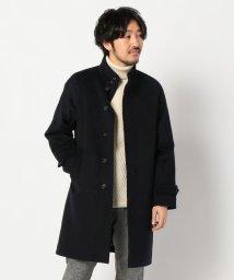 GLOSTER/スタンドカラー 中綿 コート/502796203